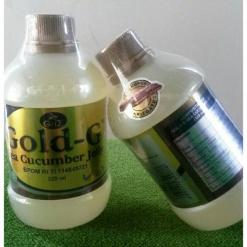 JELLY GAMAT GOLD-G SEA CUCUMBER GNE 320ML