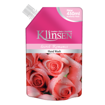KLINSEN Hand Wash  450 ML - REFILL - 3 variants