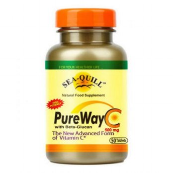 Pusat Distributor Sea-Quill Pure Way C 500 mg isi 50 tablets