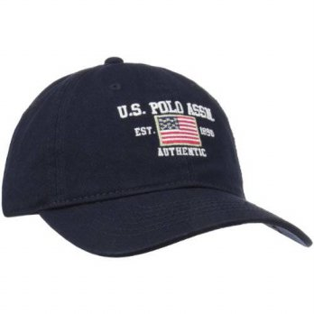 [macyskorea] U.S. Polo Assn. Mens Flat Baseball Cap, Navy, One Size/12634729