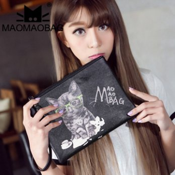 MaoMaoBag- Korean version prints Clutch
