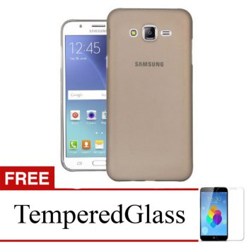 Case for Samsung Galaxy Z2 - Abu-abu + Gratis Tempered Glass - Ultra Thin Soft Case