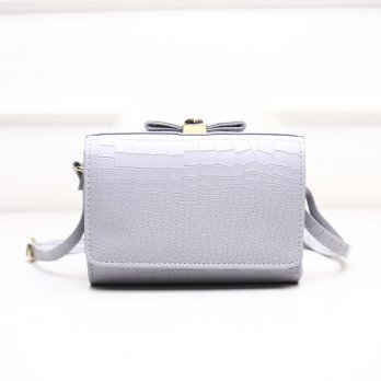 Tas Wanita Handbags Shoulder Ransel Import GT21428 Gray