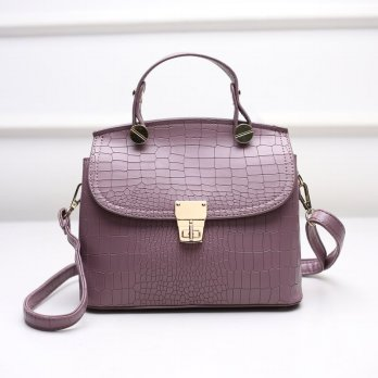 Tas Wanita Handbags Shoulder Ransel Import GT21425 Grape