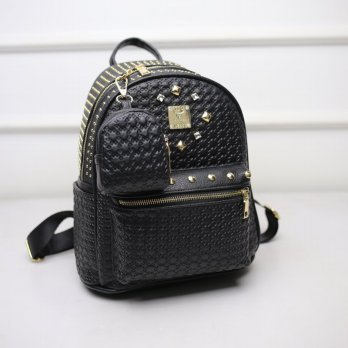 Tas Wanita Handbags Shoulder Ransel Import GT21422 Black