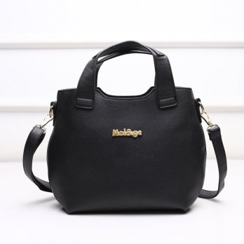 Tas Wanita Handbags Shoulder Ransel Import GT21420 Black