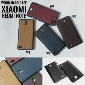 Xiaomi Redmi Note Wood Hard Case Casing Cover