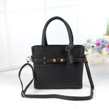 Tas Wanita Handbags Shoulder Ransel Import GT21378SN Black