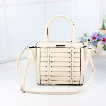 Tas Wanita Handbags Shoulder Ransel Import GT21360SN Rice