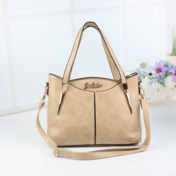 Tas Wanita Handbags Shoulder Ransel Import GT21379SN Light Khaki