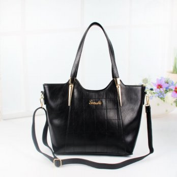 Tas Wanita Handbags Shoulder Ransel Import GT21362SN Black