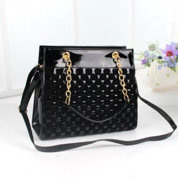 Tas Wanita Handbags Shoulder Ransel Import GT21338SN Black