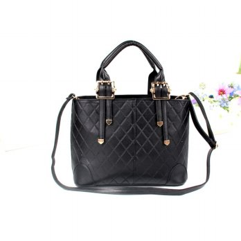 Tas Wanita Handbags Shoulder Ransel Import GT21377SN Black