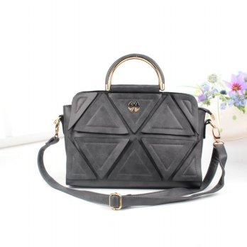 Tas Wanita Handbags Shoulder Ransel Import GT21369SN Deep Gray