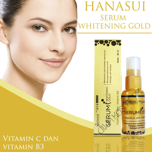 [ BPOM SERUM EMAS by Hanasui ] Serum Whitening Gold Jaya Mandiri