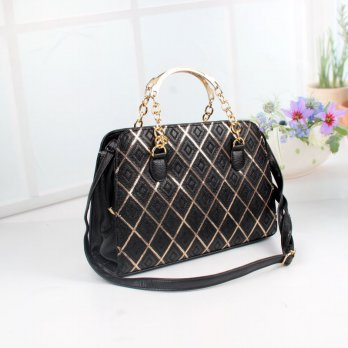 Tas Wanita Handbags Shoulder Ransel Import GT21351SN Black