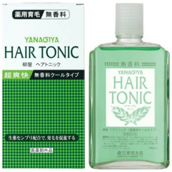 YANAGIYA Hair Tonic Fragrance free cool type Quasi Drug Tonik Perawatan Rambut Rontok Best Seller