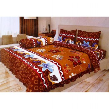 Sprei Illusions Disperse 180 X 200 Motif Japana