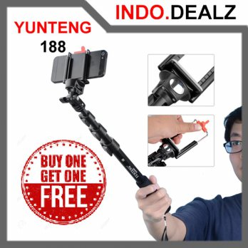 Buy 1 Get 1 Monopod Yunteng Yt-188 Tongsis 4 Section