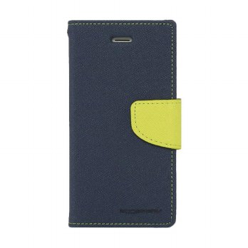 Mercury Fancy Diary Oppo Find 5 Mini R827 - Biru Laut/Hijau Tua