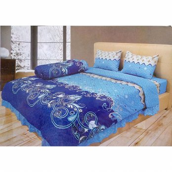 Sprei Illusions Disperse 180 X 200 Motif Vermont