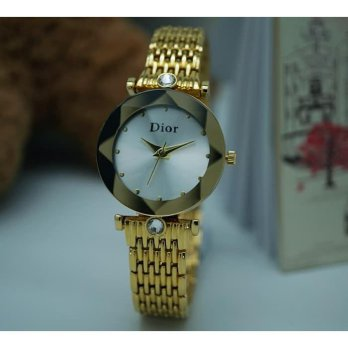 DIOR KACA KRISTAL GOLD COVER WHITE