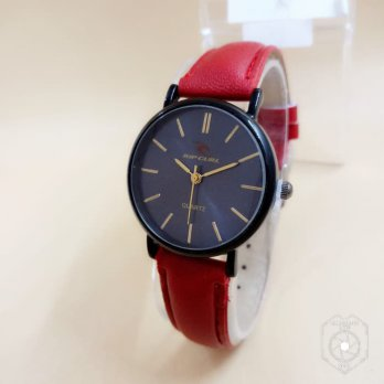 RIPCURL KULIT RED BLACK (BLACK)