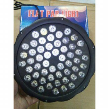 LAMPU SOROT PANGGUNG DISCO FLAT PAR LIGHT RGBW 54 LED