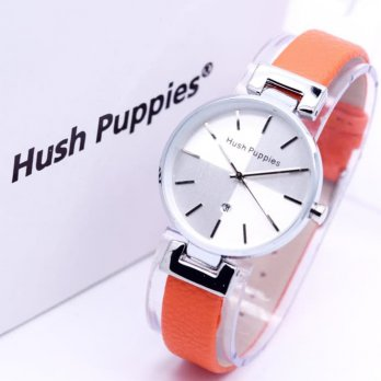 HUSH PUPPIES KULIT TANGGAL ORANGE SILVER