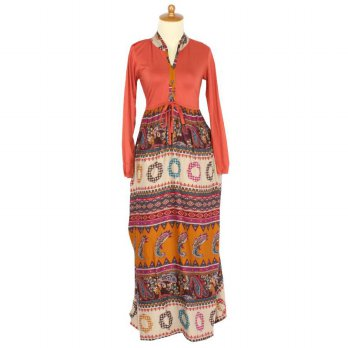 Iyesh HENK0012 - 0012 Maxi Bohemian - Orange