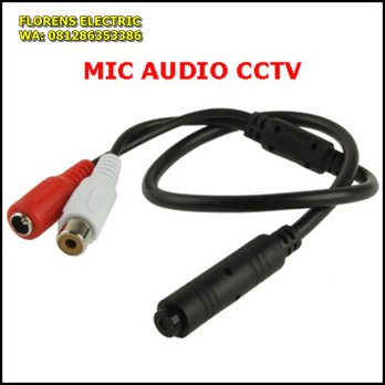 Microphone CCTV Model CS-06A  Audio monitoring