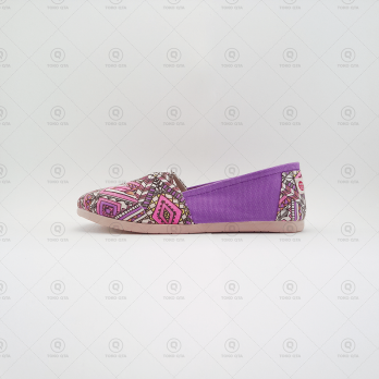 Ppyong Flat Shoes - Tribal Ungu