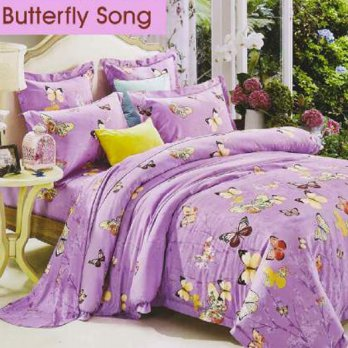 The Carls Butterfly song purple 120x200x30 - Katun Lokal