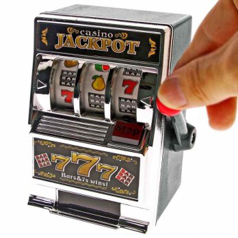 SLOT MACHINE BANK - CELENGAN PERMAINAN