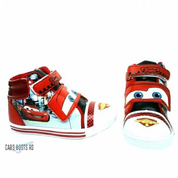 [DISNEY ] CARS BOOT size 28 sd 33 merah/hitam