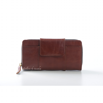 Dompet Kulit Denaya Oily Brown Series