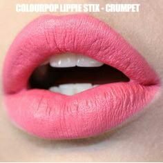 colourpop lippie stix crumpet