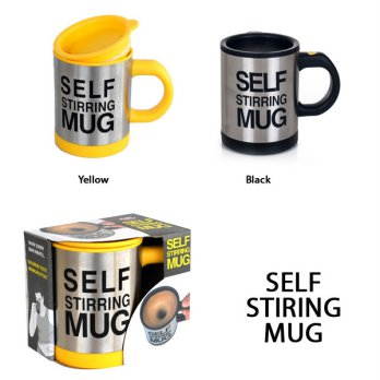 Cangkir Gelas Mug Mixer Self Stirring