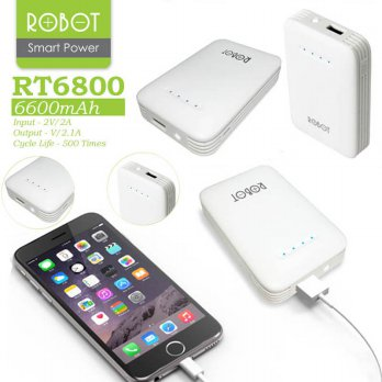 ROBOT RT6800 powerbank 6600mah