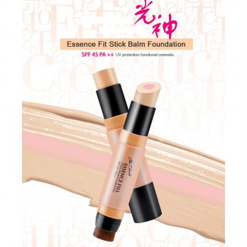 Witch's Pouch The Choute Essence Fit Stick Balm Foundation SPF 45 PA++ ORIGINAL KOREA 100%