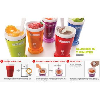 Diskon Zoku Slush and Shake Maker, Zoku Ice Cream Maker