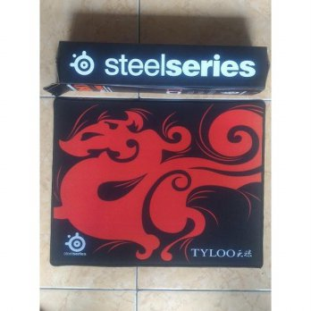 mousepad gaming steelseries tyloo 27cm x 22cm bahan Halus SJ0041