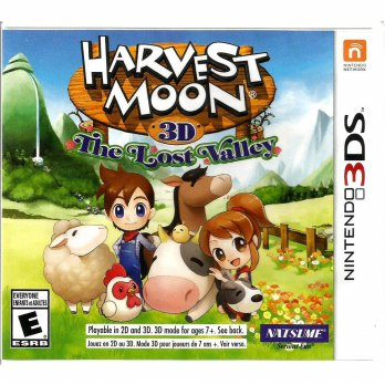 Nintendo 3DS Harvest Moon 3D: The Lost Valley