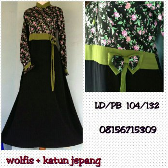 Gamis Syar'i Home Made At Tiin