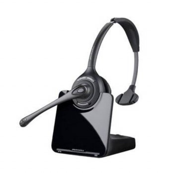 [holiczone] Plantronics CS510, Wireless Headset, Monaural, 1.9GHZ, 300 Range, Black/Silver/197160