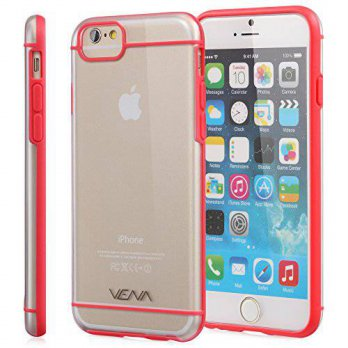 [holiczone] Vena iPhone 6s Case - VENA [RADIANT] Ultra Slim Clear Hybrid Bumper Case for A/197585