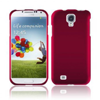 [holiczone] HRWireless [GTE Zone] For Samsung Galaxy S4 i9500 Rubberized Cover - Rose Pink/201504