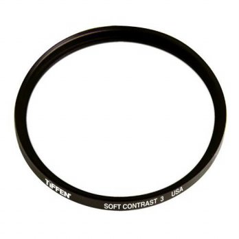 [holiczone] Tiffen 58SC3 58mm Soft Contrast 3 Filter/155596