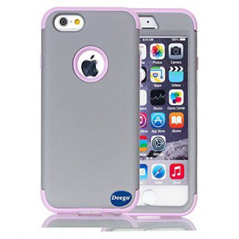 [holiczone] Deego iPhone 6 Plus Case,Nancys shop Premium Ultra Slim Double Layer 2in1 Hard/152738