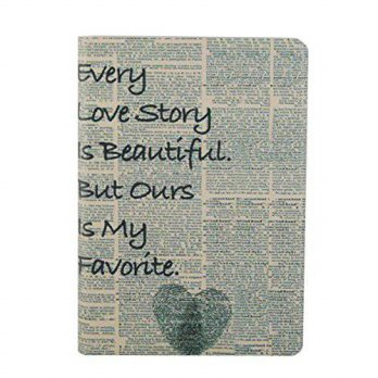 [holiczone] Elonbo 6 Kindle Paperwhite Case, Elonbo Fashion Cute Love Story Design Silk Pa/91442